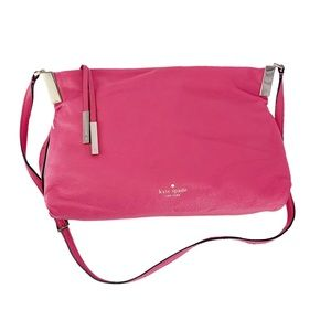Kate Spade Pink Buttery Soft Leather CrossBody Bag